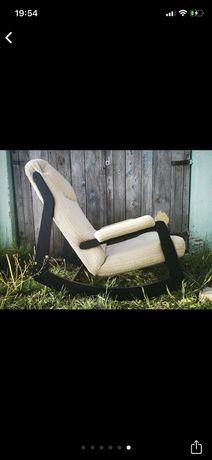 Niespochierowski Okazja Fotel bujany prl, retro , vintage , lata 60