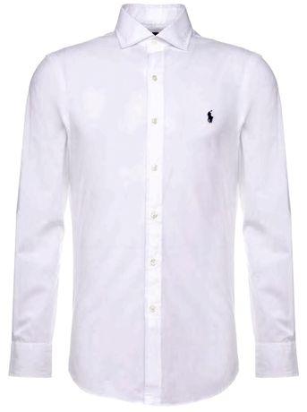 Polo Ralph Lauren slim fit white koszula Xl