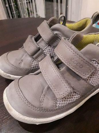 Ботинки кросовки ecco натуральная кожа