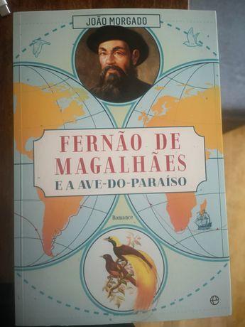 Livro Fernão Magalhães e a ave do paraíso
