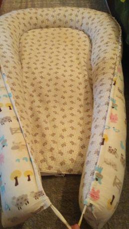 Кокон/ спальное место/ для новорожденных/ 0+/ гнездо