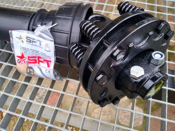 Wałek odbioru mocy ze sprzęgłem ciernym WOM SPT T5 830 N.m