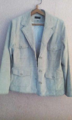 Куртка женская из натуральной лайковой кожи,б/у отличное состояние.