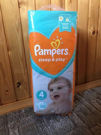 Памперсы Pampers sleep & play