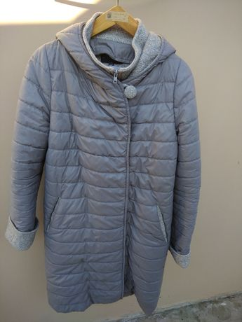 Молодежная осенне-зимняя курточка в стиле oversize.