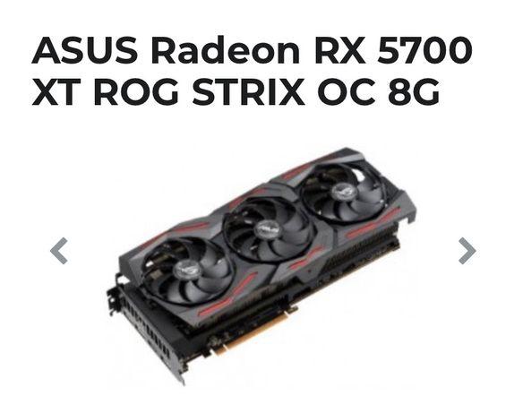Видеокарта Asus ROG STRIX OC Radeon RX 5700 XT 8G, 8192 MB GDDR6