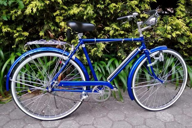 Bicicleta pasteleira totalmente restaurada