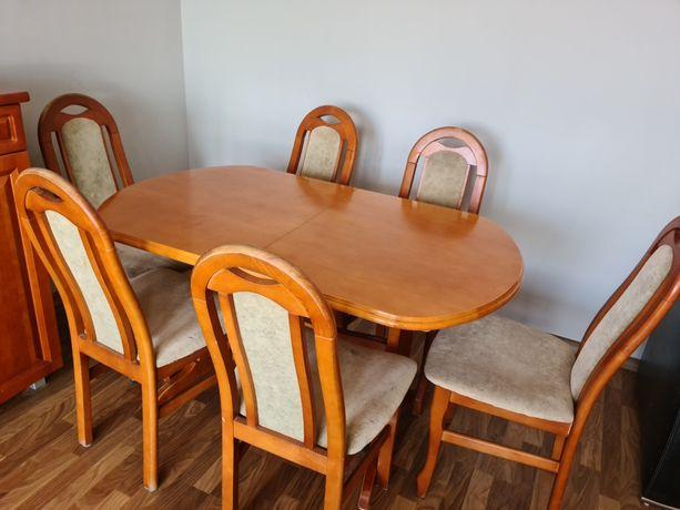 Oddam za darmo stół i 6 krzeseł