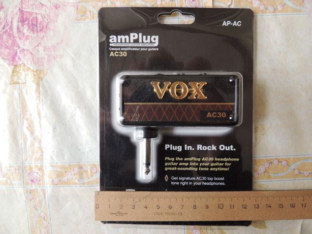 Гитарный усилитель предусилитель звука Amplifier VOX AC 30