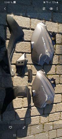 Triumph Tiger 1050 wypelnienie czesci