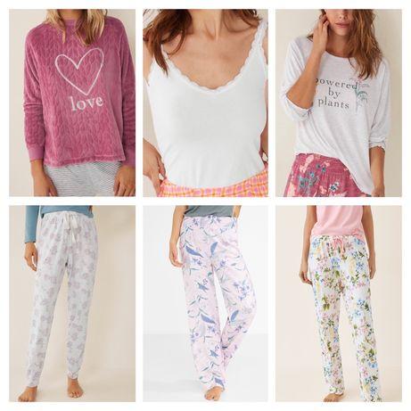 Пижамные штаны , майка , кофта Women'Secret, Oysho