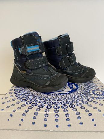 Зимние теплые мембранные ботинки сапоги на мальчика Tigina, 23 размер