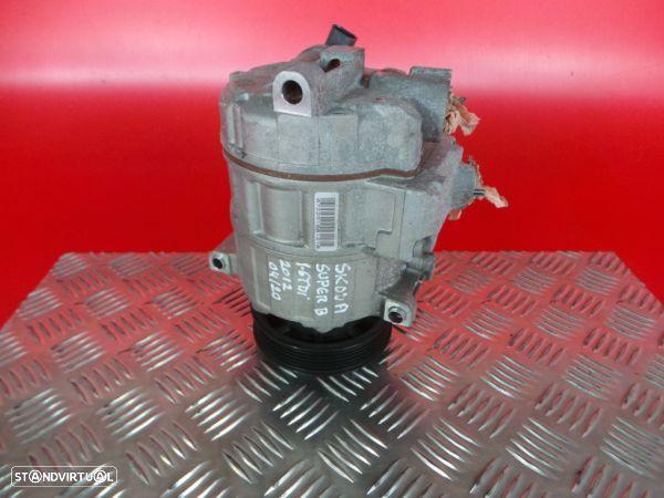 Compressor Do Ar Condicionado Skoda Superb Ii Combi (3T5)