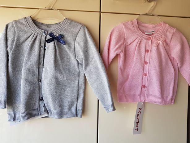 Sweterek NOWY r.74 i 92