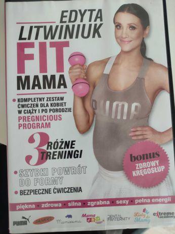 Edyta Litwiniuk Fit mama ćwiczenia dla kobiet w ciąży i po porodzie