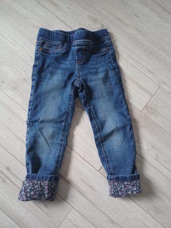 Spodnie z podszewką 104