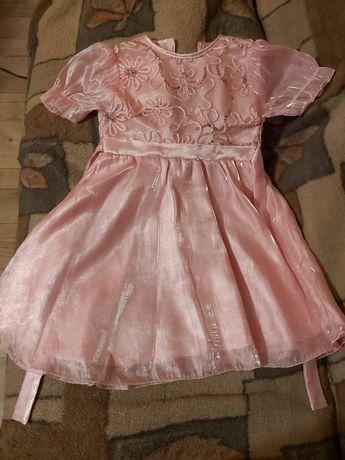 Sukienka wizytowa na 3-4 latka