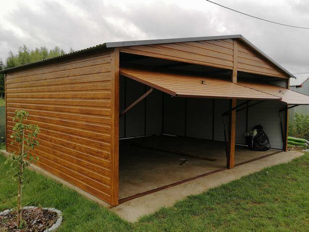 Garaż blaszany 6x6  garaże na wymiar