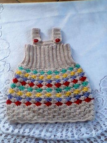 sukieneczka z szelkami