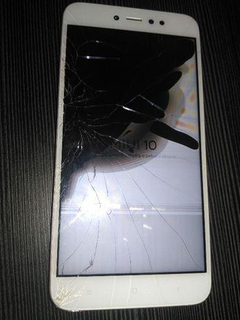 Xiaomi Redmi Note 5A - uszkodzony wyświetlacz.