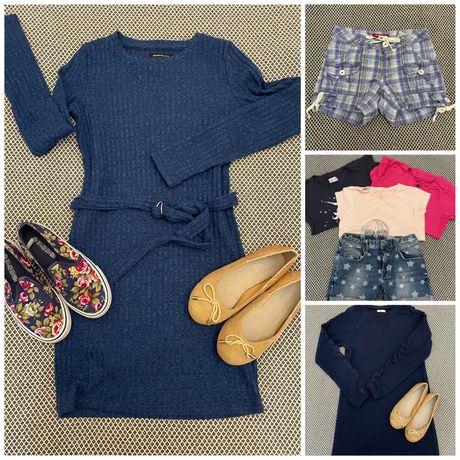 Zestaw ubranek dla dziewczynki  17 sztuk. 146-152