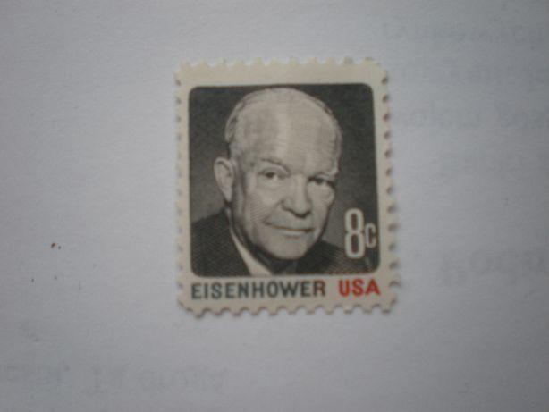 Znaczek Eisenhower 8centów