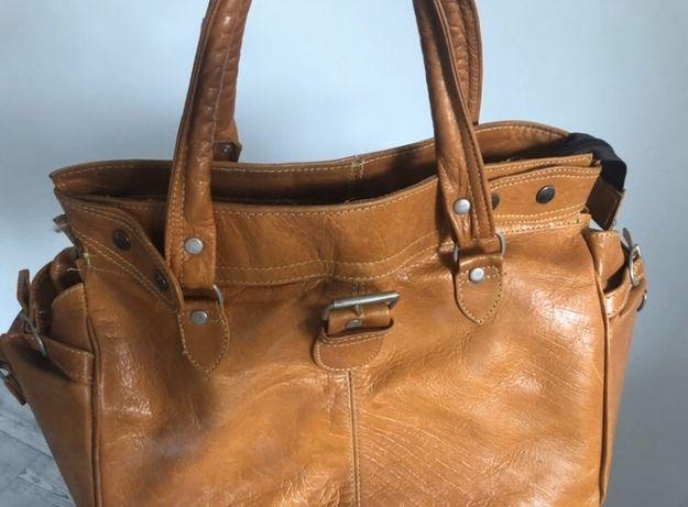 Skórzana torbeka