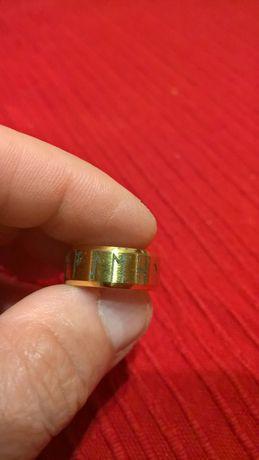 Amulet Pierścień Vikingów TYTAN złoto