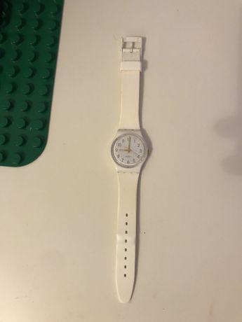 Swatch white часы свотч белые