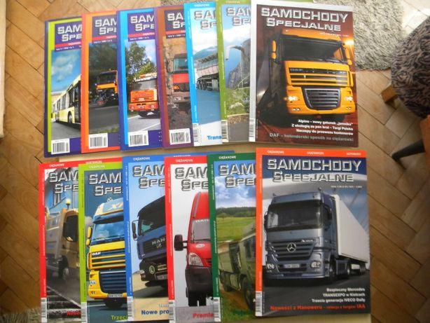 Samochody specjalne czasopismo / magazyn.
