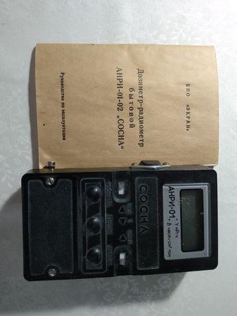 Дозиметр-радиометр бытовой с инструкцией
