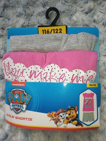 Piżama dla dziewczynki Psi Patrol 116/122