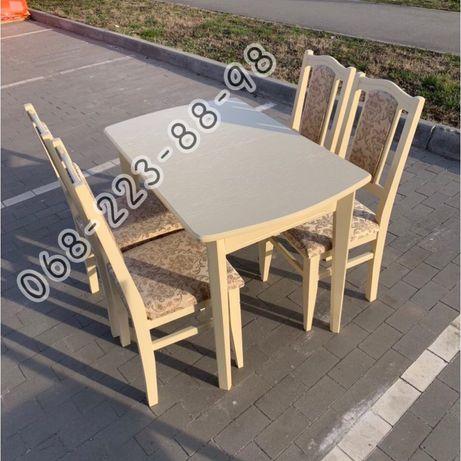 Кухонный коплект Класик. Стол и стулья. Столы на кухню.