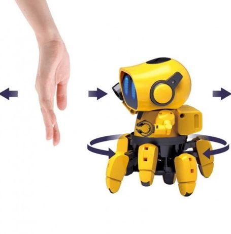 """Режим """"Хороший друг"""". Robot Tobi Small Six. Конструктор, паук"""
