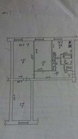 Продам 3-х кімнатну квартиру з автономним опаленням