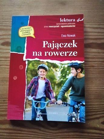 Ewa Nowak Pajączek na rowerze
