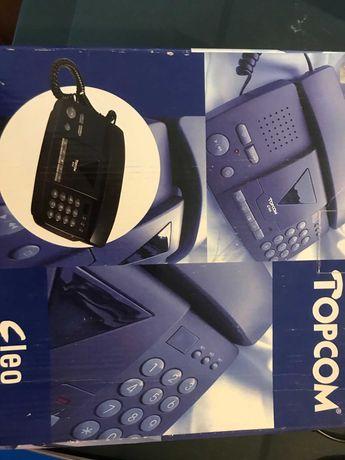 Telefone/Gravador TOPCOM  **NOVO**