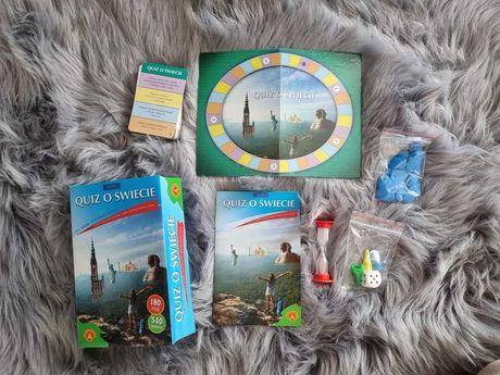Quiz o świecie. Gra, zabawa, informacje o świecie.