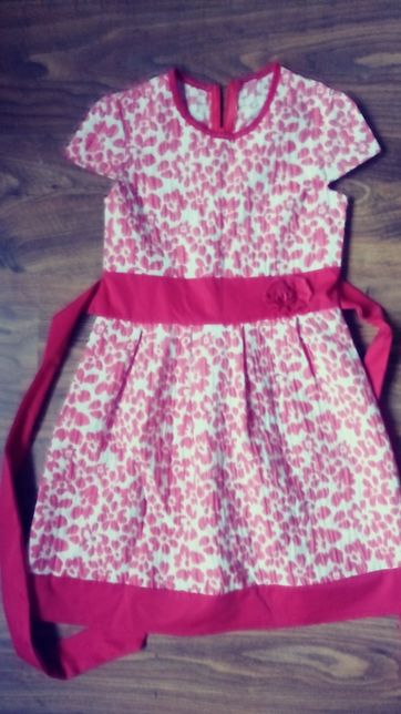 sukienka polska produkcja 8-9 lat