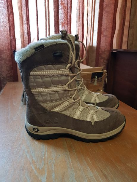 Полусапоги,ботинки Jack Wolfskin SNOW PEAK TEXAPORE WOMEN 39-40 сапоги