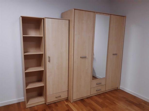 Meble pokojowe - szafa, regały, komoda, biurko