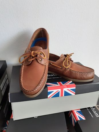 Sapato Chatham Uk novos em caixa
