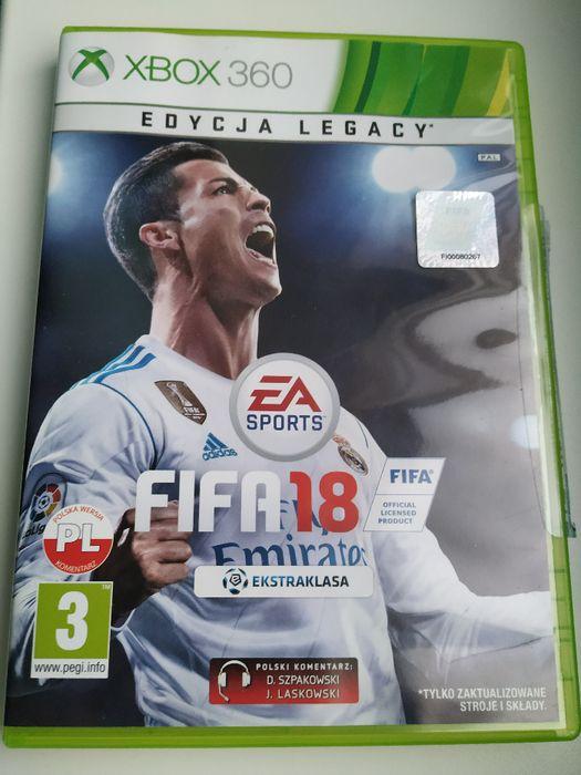 Sprzedam grę FIFA 18 Xbox 360 Jelenia Góra - image 1