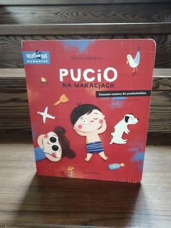 Książka Pucio na Wakacjach M. Galewska-Kustra