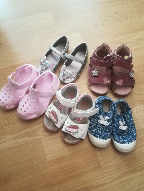 Sandałki, tenisowki, buty dla dziewczynki, R. 23