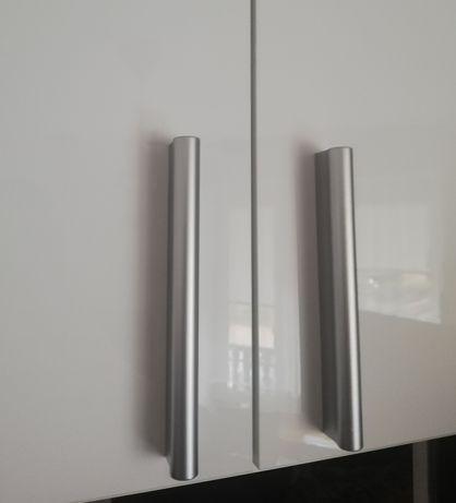 Uchwyty szare 96 - 128mm IKEA 4 sztuki klamka komoda szafa