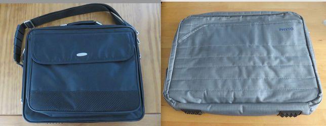Pasta / mala de computador TECHAIR laptop documentos - como novas