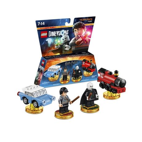 LEGO 71247 - Dimensions Team Pack - Harry Potter - stan BDB - unikat !