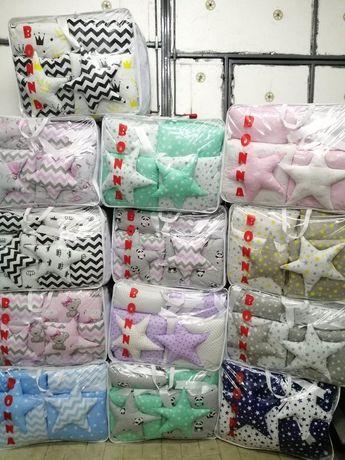 Бортики в кроватку для младенцев, постель детская одеяло подушка