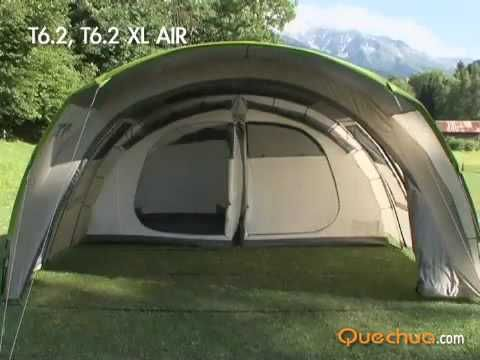 Um Quarto para tenda QUECHUA T6.2 (Tenda não incluída)